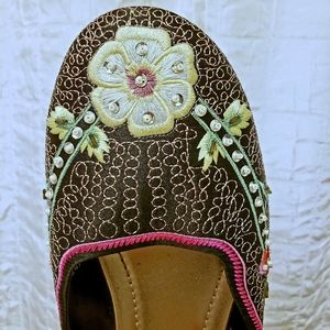 slippers Ken Cole Reaction, embroidered/beaded,6.5